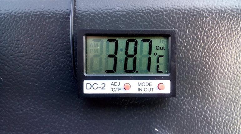 Автомобильный электронный термометр: особенности устройства и критерии выбора