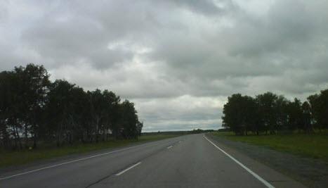 Трасса М-51 «Байкал», от Челябинска до Новосибирска, через Омск и Курган
