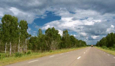 Трасса М53 « Байкал», от Новосибирска до Иркутска, через  Кемерово и Красноярск