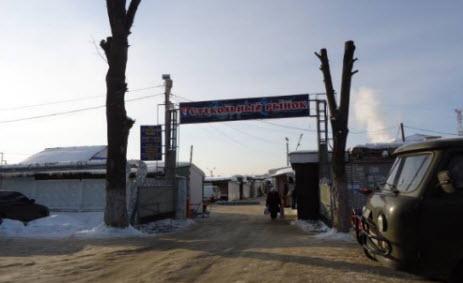 Стекольный рынок в Гусь-Хрустальном