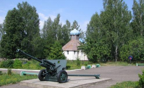 Трасса А101 мемориал ВОВ Зайцева гора