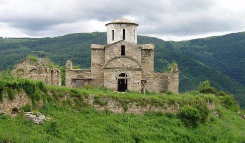 Трасса А155 Сентинский храм маршрут Черкесск Домбай