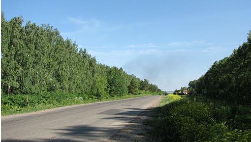 Трасса М38, маршрут Омск — Черлак