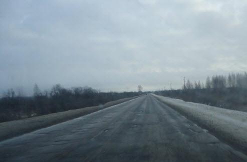Трасса М8 маршрут Вологда Ярославль после 170 км