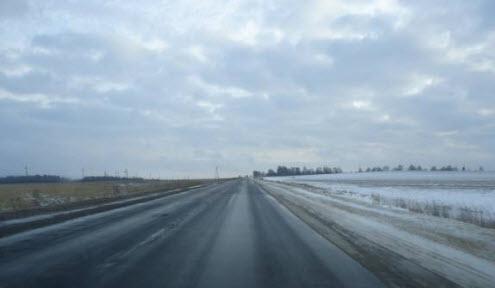 Объездная дорога широкая по