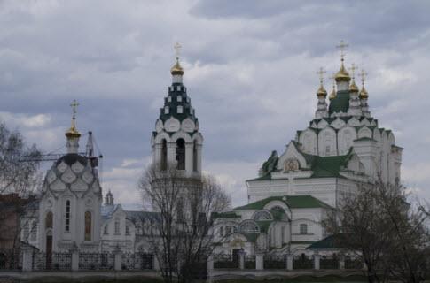 Церковь Пресвятой Троицы в городе Йошкар-Ола