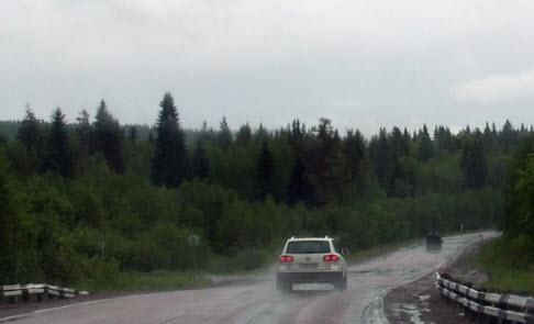 дорога а 130, трасса а130, маршрут от Олонца до Вертсиля