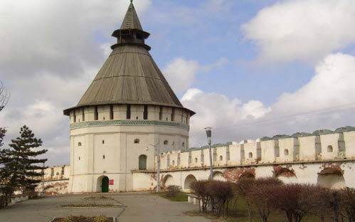 Трасса А154, астраханский кремль