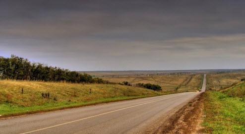 Трасса М32, маршрут Самара — Большая Черниговка — граница с Казахстаном