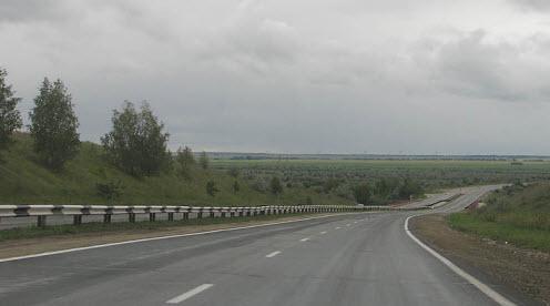 Трасса М36 маршрут Челябинск Троицк