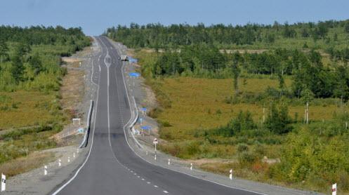 Трасса М58 Амур, карта трассы М58