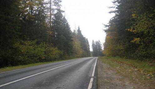 Трасса А100, маршрут Москва Бородино, дорога А 100, Можайское шоссе