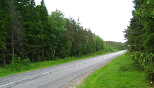 Трасса А107 между Ногинском и Софрино