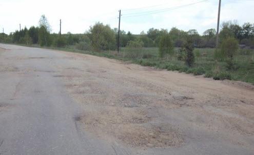 Трасса А143, Тамбов Шацк, недалеко от Шацка