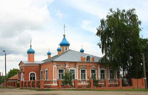 Трасса А-144, церковь святой равноапостольной Ольги, калининск