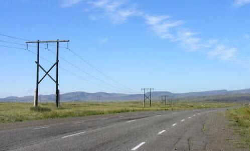 Трасса А162, в районе поселка Усть-Элегест
