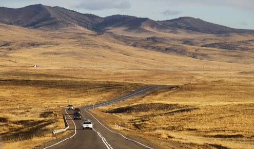Трасса А165, маршрут  Улан-Удэ — Кяхта