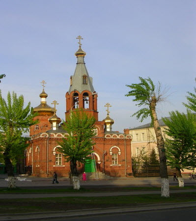 Барнаул, проспект ленина, церковь
