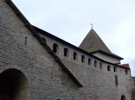 Государева башня вид из крепости, достопримечательности трассы М18
