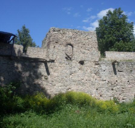 Малая Башня Никольская крепость трасса А116