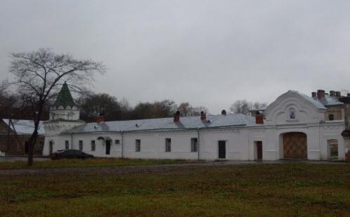 Никольский мужской монастырь,Старая Ладога, достопримечательности трассы М18