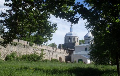 Трасса А116, Порхов Никольская крепость