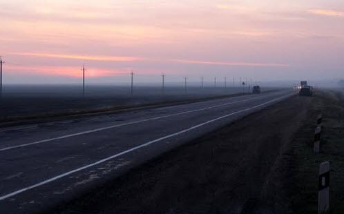 Трасса М6 Каспий, михайловский район, карта трассы М6