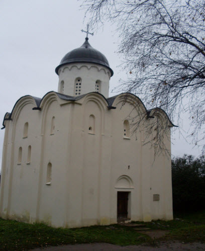 Церковь св. Георгия, Старая Ладога, трасса М18