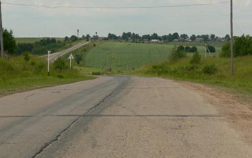 Дорога Р-7, трасса Р7, Тотьма Никольское