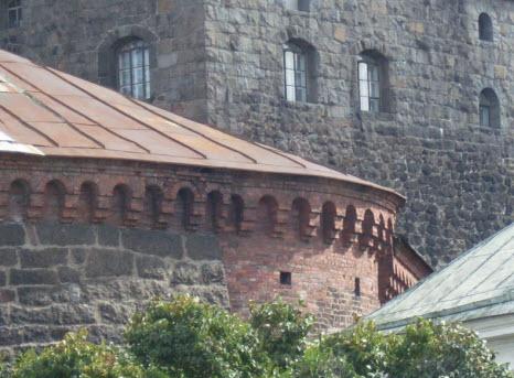 Крепостные стены замка в выборге, достопримечательности трассы М10