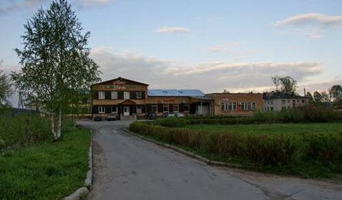 Мотель Уют, в городе Пудож, на трассе Р16, Р5