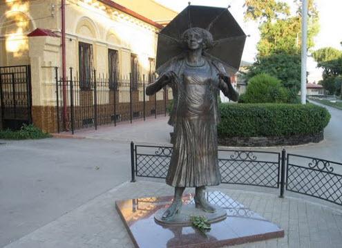 Памятник Фаине Раневской, Таганрог, трасса М23