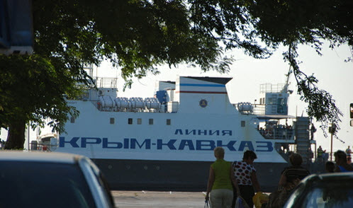 Паром Крым Кавказ, как доехать до Евпатории