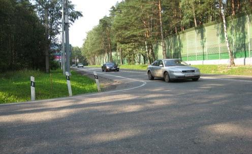 Рублево-Успенское шоссе, трасса А105, Рублевка