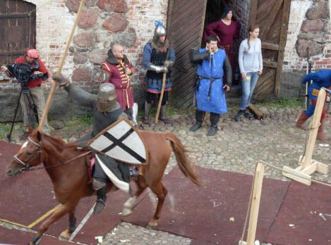 Рыцарский турнир в замке выборга, трасса М10