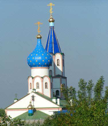 Свято-Духов мужской монастырь, Тимашевск, трасса Р268