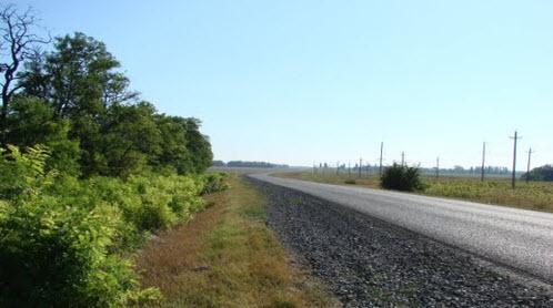 Трасса М23, дорога от Ростова до Одессы