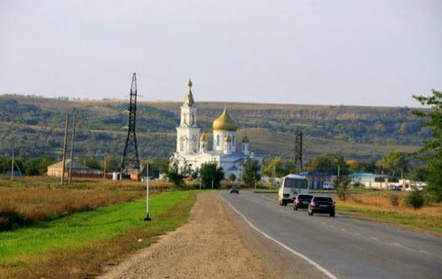 Трасса Р269, Храм село Московское