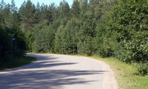 Трасса Р41 на 110 км, дорога Р41
