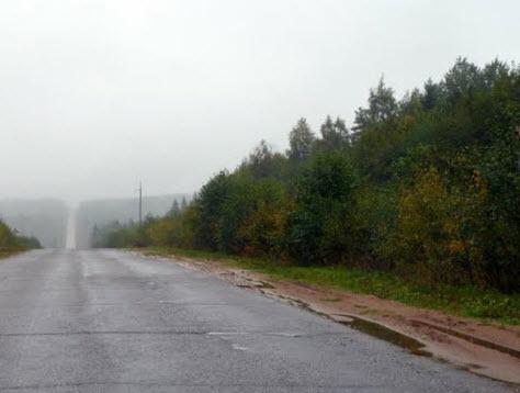 Трасса Р7, маршрут Чекшино Тотьма Новоникольское