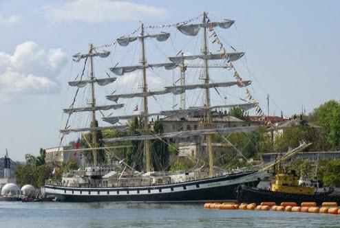 Фрегат Паллада в Севастополе, как доехать до Севастополя