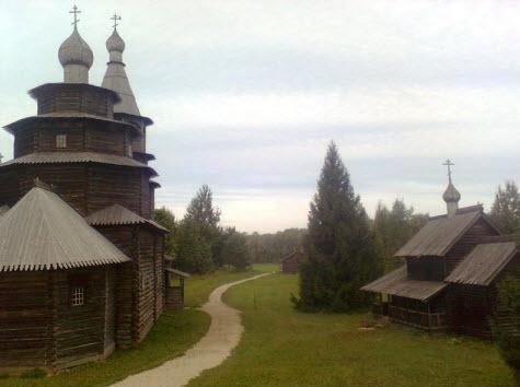 Церковь Николы из деревни Высокий Остров 1767 год, достопримечательности трассы М10