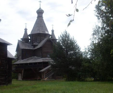 Церковь Рождества Богородицы 1531 года, трасса М10