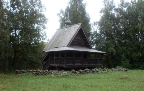 Часовня из деревни Малышево Пестовского района XVIII в, трасса М10