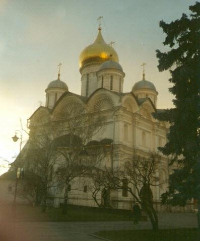 Архангельский Собор, достопримечательности Москвы