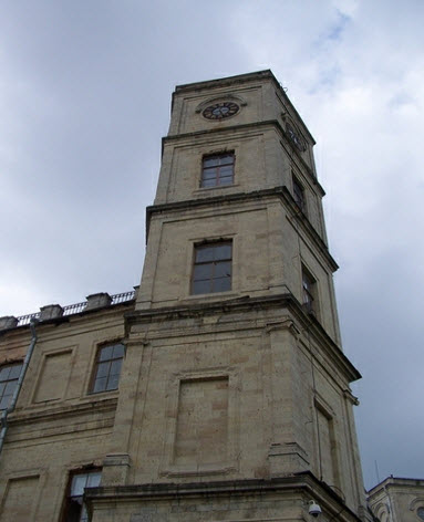 Башня, Гатчина, достопримечательности трассы М20