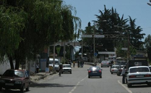 Граница между Россией и Абхазией, как доехать до Абхазии