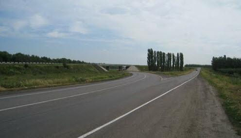 Дорога Р193, трасса Р193 после Новой Усмани