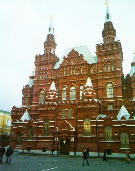 Исторический музей, достопримечательности Москвы