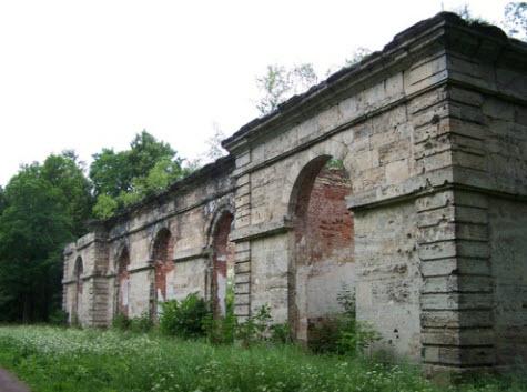 Лесная оранжерея, Гатчина, достопримечательности трассы М20